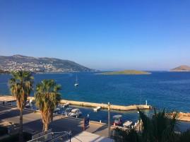 Veranda View of Aegean Sea © Brittany Castille-Webb