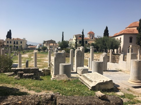 Roman Agora, Athens © Brittany Castille-Webb