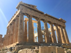 The Parthenon, Athens © Brittany Castille-Webb