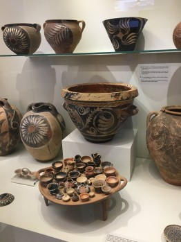 Pottery from Knossos Palace © Brittany Castille-Webb
