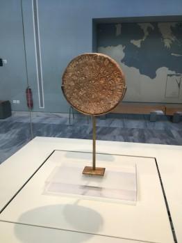 Phaistos Disc, Heraklion © Brittany Castille-Webb