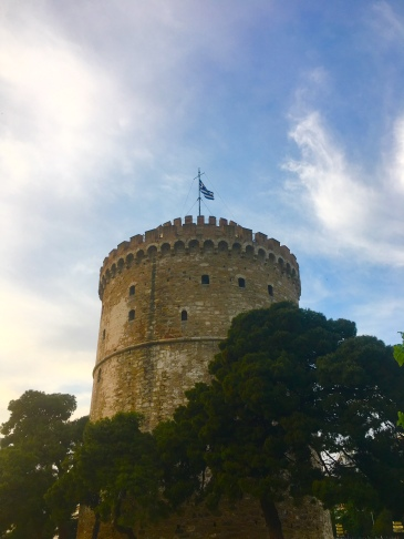 The White Tower of Thessaloniki © Brittany Castille-Webb