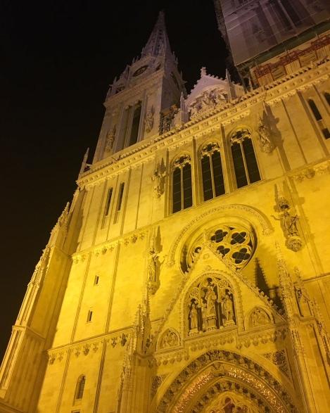 Zagreb Cathedral © Brittany Castille-Webb