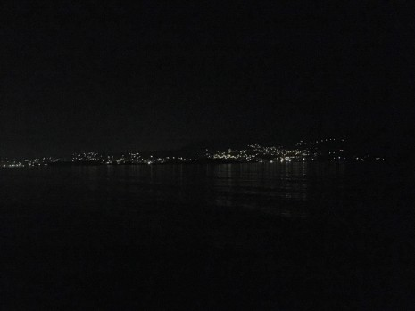 Porto Rafti Night Skyline © Brittany Castille-Webb