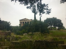 Temple of Apollo Patroos, Athens © Brittany Castille-Webb