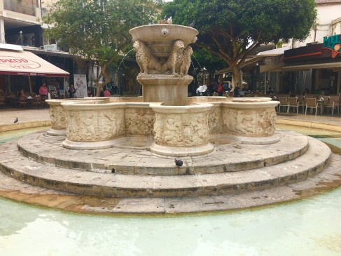Morosini Fountain, Heraklion © Brittany Castille-Webb