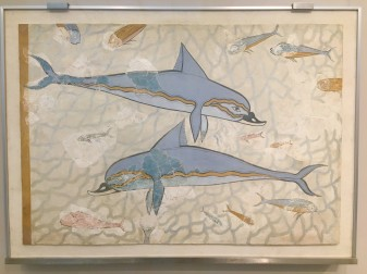 Dolphin Fresco, Heraklion © Brittany Castille-Webb