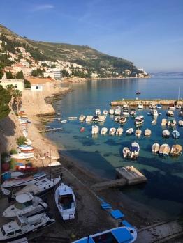 Harbor in Dubrovnik © Brittany Castille-Webb