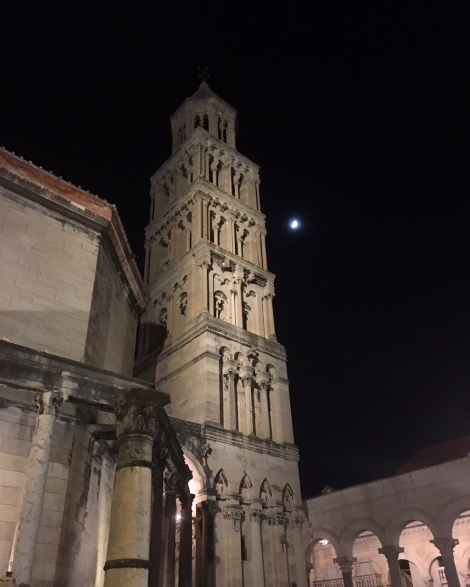 Bell Tower in Diocletian's Palace © Brittany Castille-Webb