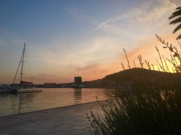 Sunset in Split © Brittany Castille-Webb
